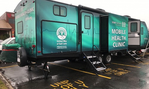 KSL News Story: Mobile health clinic aims to reach more Utahns in need